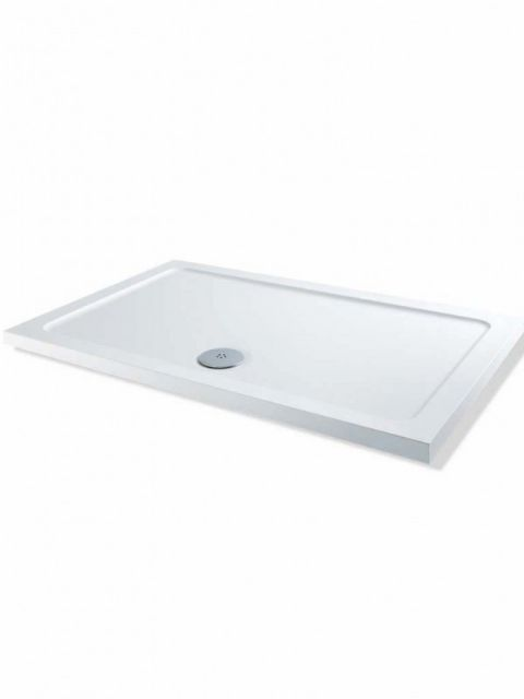 Mx Elements 1300mm x 800mm Rectangular Low Profile Tray SS4